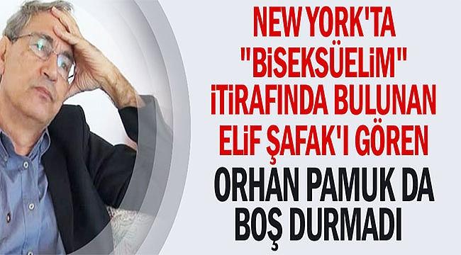 Orhan Pamuk'ta Dikkat Çekmemek için...