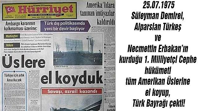 Türkiye Daha Önce incirlik'e el koymuştu