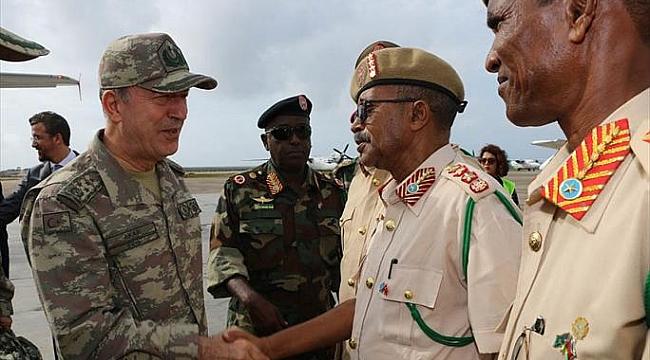Türkiye'nin en büyük Askeri Üssü Somali'de