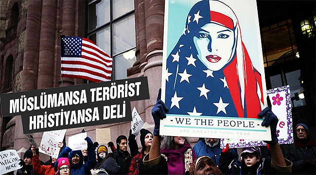 ABD'de Müslüman suç işleyince Terörist! Ya diğerleri?