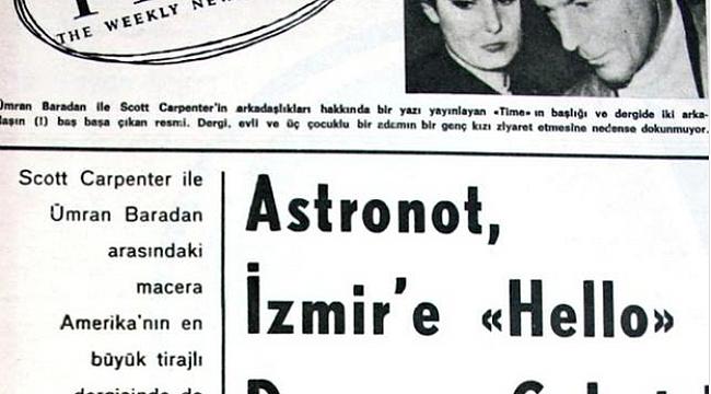 ABD'nin İlk Astronotu Bir Türk'e Aşık Oldu