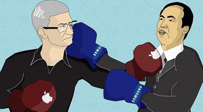 Apple ve Samsung Arasındaki Patent Savaşı