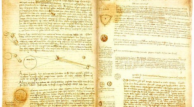 Bill Gates Da Vinci'nin el yazmalarını Sergileyecek