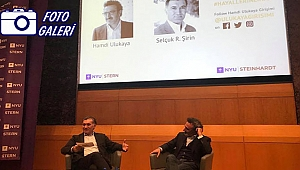 Chobani Hamdi Ulukaya New York Üniversitesinde