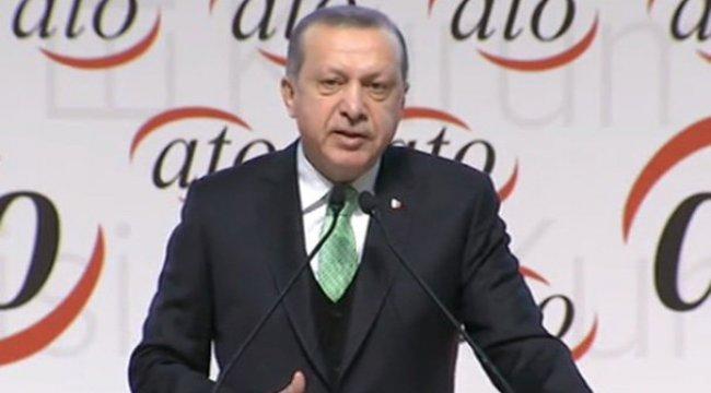 Cumhurbaşkanı Erdoğan'dan flaş döviz çıkışı