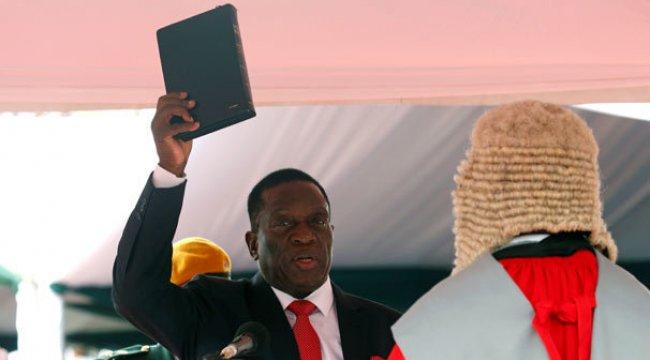 Darbe ülkesinde yeni lider yemin etti