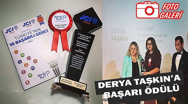 Derya Taşkın 10 Başarılı Türk'ten biri seçildi