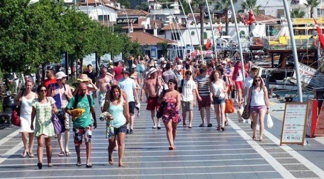 Ekim'de Türkiye'yi ziyaret eden yabancı sayısı geçen yılın aynı ayına göre yüzde 22,16 arttı