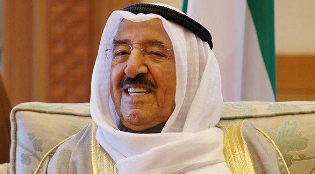 Erdoğan'dan Kuveyt Emiri'ne 'geçmiş olsun'