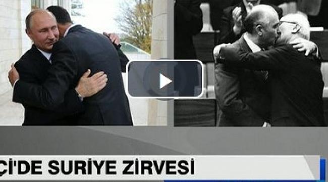 Esad ve Putin'in sarıldıkları fotoğraf