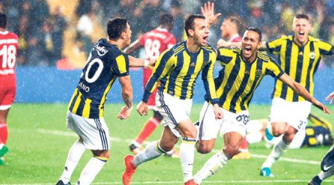 Fenerbahçe'nin Sivasspor Mutluluğu