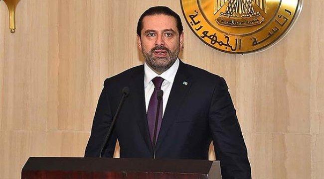 Hariri'den 'Görevimin başındayım' açıklaması
