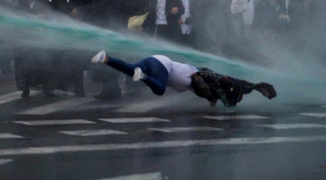 İsrail'de zorunlu askerlik karşıtı gösteride olaylar çıktı