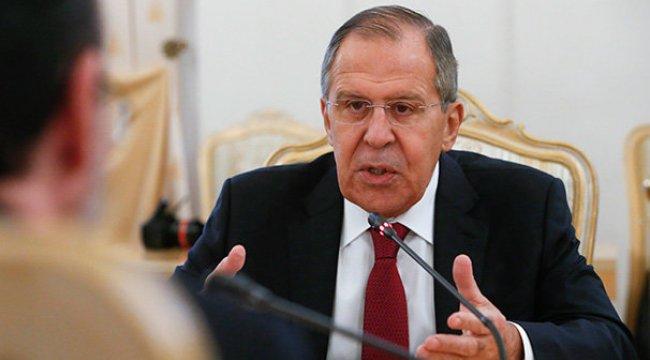 Lavrov, Çavuşoğlu ve Zarif'le yapacağı görüşmeyi değerlendirdi