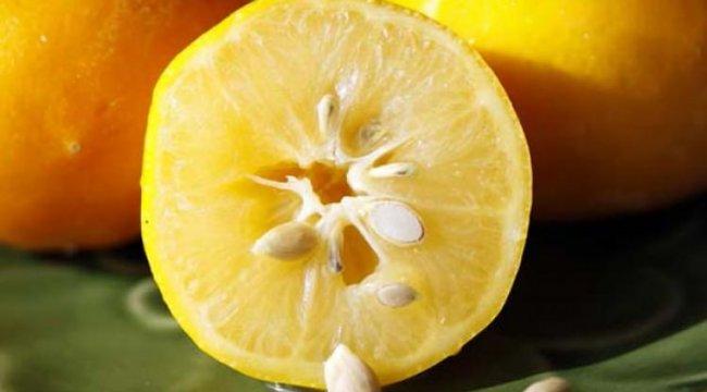Limonu saçınıza sürerseniz...