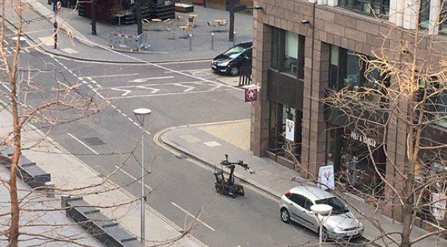 Londra'da şüpheli araç alarmı!