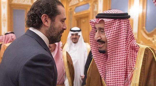 Lübnan Başbakanı Hariri Kral'ı havalimanında karşıladı