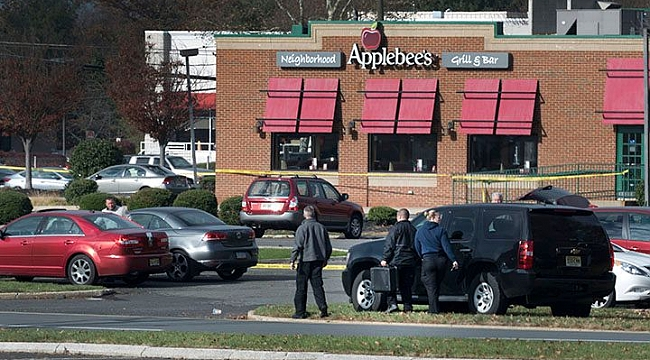Man shot dead inside Applebee's restaurant
