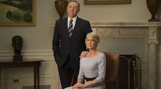 Netflix House of Cards dizisinin çekimlerini durdurdu