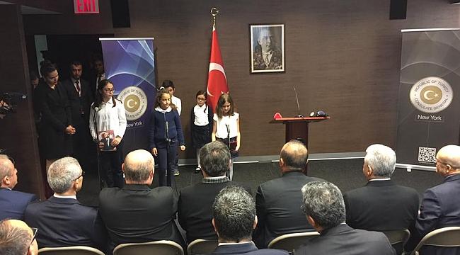 New York'ta 10 Kasım Atatürk'ü Anma töreni