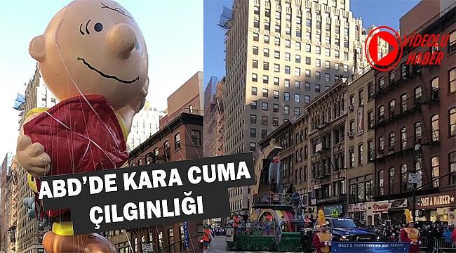 New York'ta Şükran Günü Böyle Kutlandı