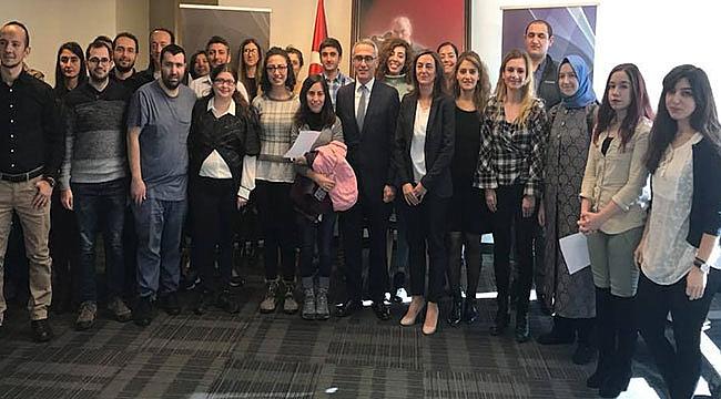 New York'taki Türk Öğrenciler Konsoloslukta