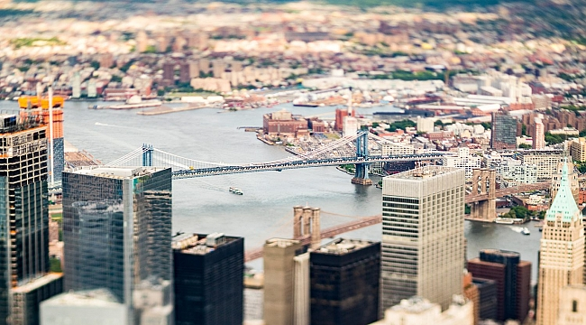 See New York City as a miniature universe in new tilt shift photo-book