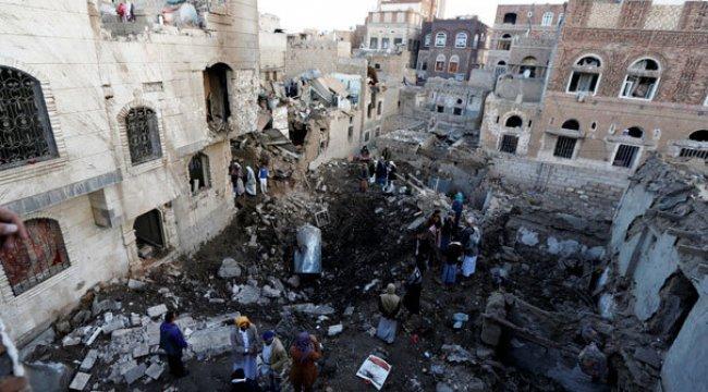 Suudi Arabistan'dan hava saldırısı! Savaş uçakları yerle bir etti
