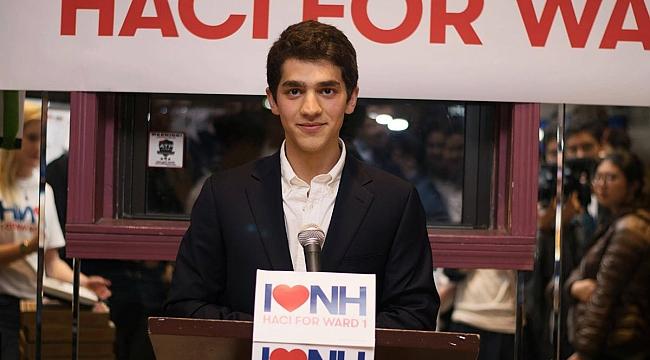 Türk Genci ABD Belediye Meclis üyeliğine seçildi