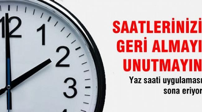 Türkiye ile Zaman Farkı Artıyor