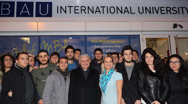 Yıldırım'dan BAU International D.C.'ye ziyaret