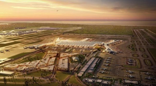 3. Havalimanı böyle tanıtıldı!