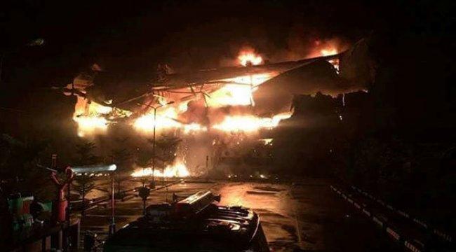 Alışveriş merkezinde yangın: 37 ölü! Filipinler yasta!