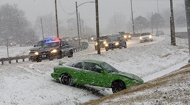 Amerika'da Son 10 Yılın En Fazla Kar Yağışı