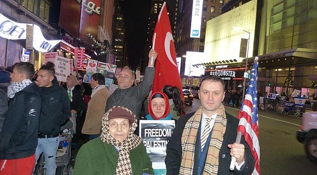 Amerikalı Türkler'in Kudüs Protestosu