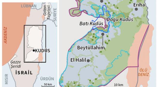 Başkent ilan edilen Doğu Kudüs neresidir?