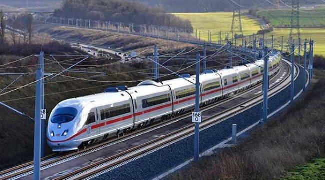 Berlin-Münih yüksek hızlı treni açılışında rezalet!