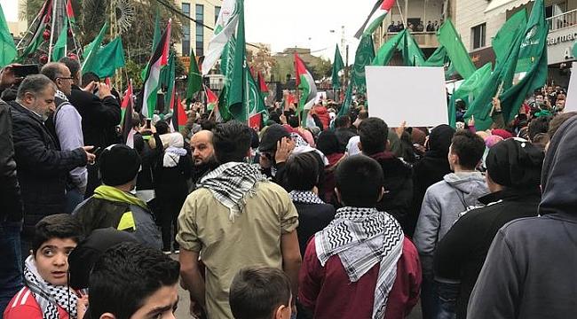 Beyrut'ta ABD Büyükelçiliğinde çatışma