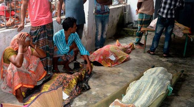 Cenazedeki izdiham faciaya dönüştü: 10 ölü