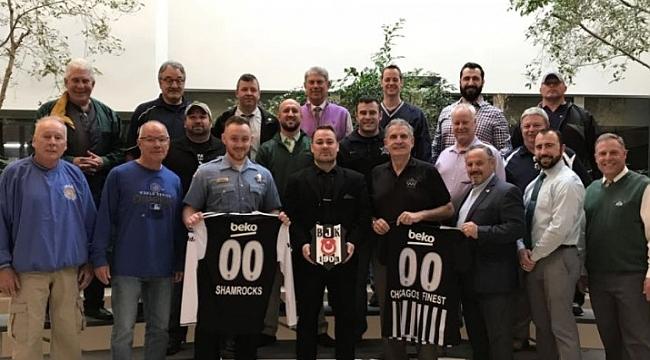 Chicago Polisinden Beşiktaş'a Destek