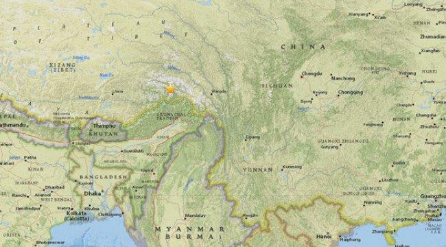 Çin'de 5.2 büyüklüğünde artçı deprem