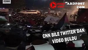 CNN Türkiye'de ki İsrail Protestosunu böyle verdi