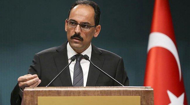Cumhurbaşkanlığı'ndan BAE Dışişleri Bakanı'na sert tepki!