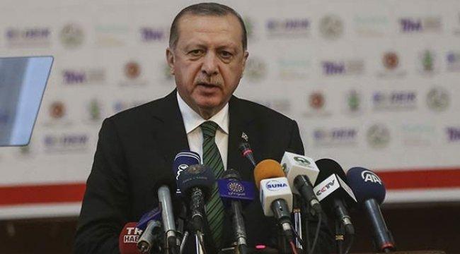 Erdoğan: 500 milyon dolar yetmez hedef 10 milyar dolar