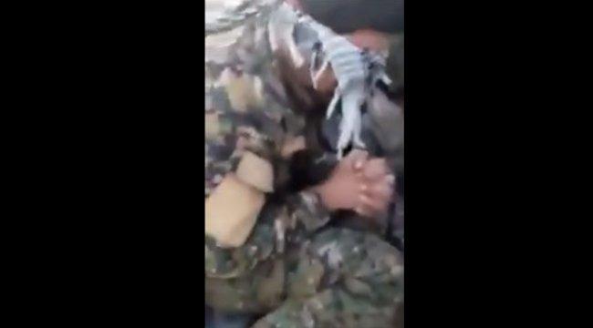 Görüntüler ortaya çıktı! YPG'li teröristler böyle yakalandı
