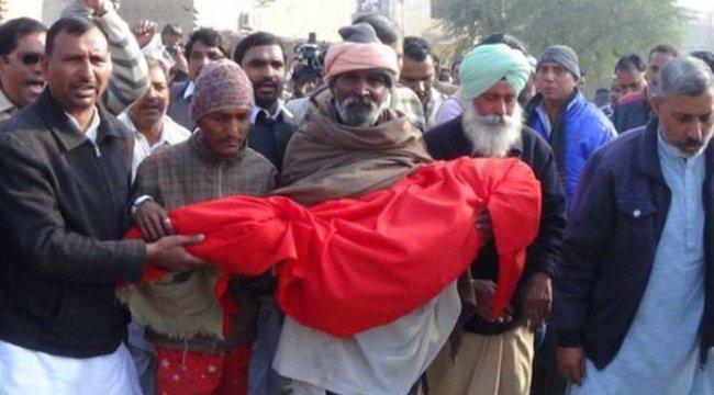 Hindistan'da infial yaratan cinayet