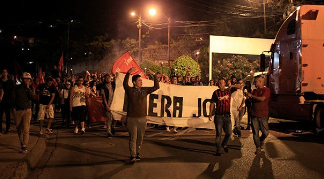 Honduras'ta muhalefet seçim zaferini geri istiyor