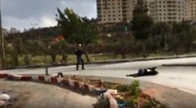 İsrail askerleri canlı yayında Filistinli'yi vurdu