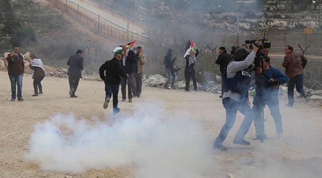 İsrail'den Filistinlilere sert müdahale!