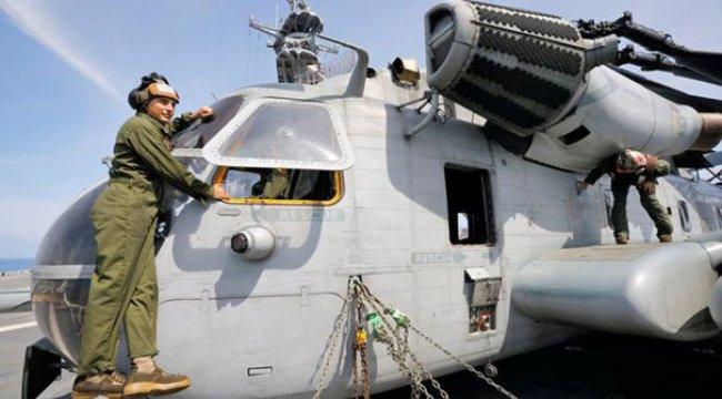 Japonya'da ABD helikopteri gerginliği!